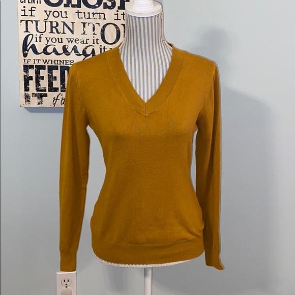 Cielo Designed in California Mustard Sweater